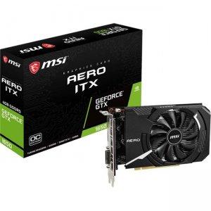 MSI AERO GeForce GTX 1650 ITX 4G OC Graphic Card G165D6AIC GeForce GTX 1650 AERO ITX 4G OC
