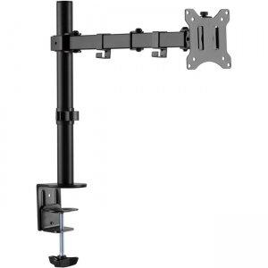 Amer Single Monitor Economical Articulating Arm EZCLAMP