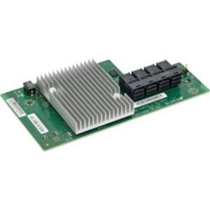 Supermicro Low Profile 12Gb/s 16-Port PCI-E x16 SAS Mezzanine Card AOM-S3616-L-X11DSC-O