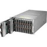Supermicro Enclosure with 4 x 2200W Titanium(96% Efficiency)Power Supplies + 4 Cooling Fans SBE-610J-422