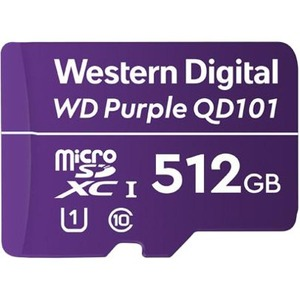 WD Purple SC QD101 Ultra Endurance microSD Card WDD512G1P0C