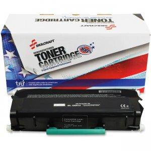 SKILCRAFT Remanufatured Lexmark E360 Toner Cartridge 6419545 NSN6419545