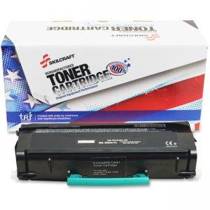 SKILCRAFT Remanufatured Lexmark E260 Toner Cartridge 6419549 NSN6419549