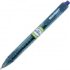 SKILCRAFT Blue Ink Retractable Ballpoint Pens 6827167 NSN6827167