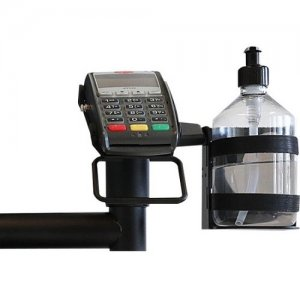 SpacePole Hand Sanitiser Dispenser Holder SAFEGUARD09-02