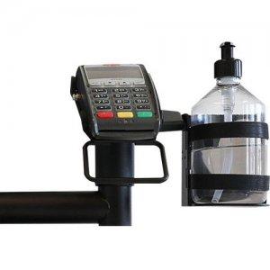 SpacePole Hand Sanitiser Dispenser Holder SAFEGUARD10-02