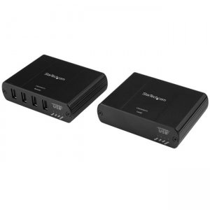 StarTech.com 4 Port USB 2.0 Extender Over Ethernet - up to 330ft (100m) - for North America USB2004EXT2NA
