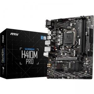 MSI Desktop Motherboard H410MPRO H410M PRO