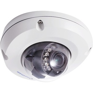 GeoVision 2MP H.265 Super Low Lux WDR Pro IR Mini Fixed Rugged IP Dome 84-EDR2700-2010 GV-EDR2700