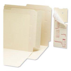 """Smead End Tab Converters, Straight Tab, Manila, 3.25"""" Wide, 500/Box SMD68080 68080"""