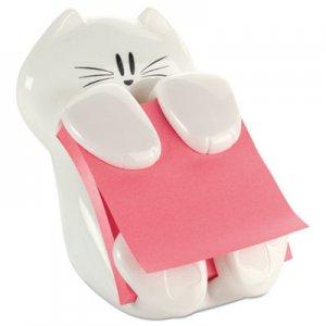 Post-it Pop-up Notes Super Sticky Pop-Up Note Dispenser Cat Shape, 3 x 3, White MMMCAT330 CAT-330