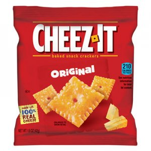 Sunshine Cheez-It Crackers, 1.5oz Single-Serving Snack Pack, 8/Box KEB12233 2410012234