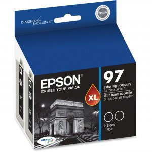 Epson Extra-High Capacity Black Ink Cartridge T097120-D2 EPST097120D2 No. 97