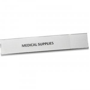 "Panter Panco Clear Magnetic Tube 1"" Label Holders PCM1 PCIPCM1"