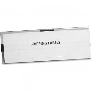 "Panter Panco Clear Magnetic Tube 2"" Label Holders PCM2 PCIPCM2"