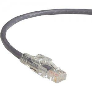 Black Box GigaBase 3 CAT5e 350-MHz Lockable Patch Cable (UTP), Gray, 6-ft. (1.8-m) C5EPC70-GY-06