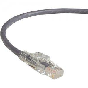 Black Box GigaBase 3 CAT5e 350-MHz Lockable Patch Cable (UTP), Gray, 15-ft. (4.5-m) C5EPC70-GY-15