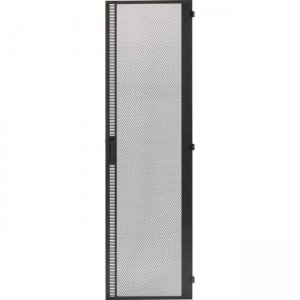 "Black Box High-Flow Mesh Door - 45U, 84""H x 24""W EC840224MHF"