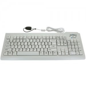 Seal Shield Silver Seal Glow Waterproof Keyboard Long Cable SSWKSV207GL