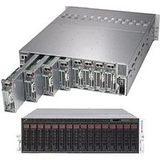 Supermicro SuperServer SYS- (Black) SYS-5039MC-H8TRF 5039MC-H8TRF