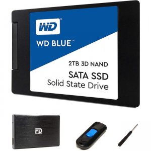 Fantom Drives FD 2TB SSD Upgrade Kit - Includes 2TB Western Digital Blue SSD W2000SSDKIT