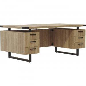 """Mayline 66""""x30"""" Mirella BBB/BBB Free Standing Desk MRDBB6630SDD MLNMRDBB6630SDD"""