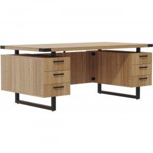 """Mayline 72""""x30"""" Mirella BBB/BBB Free Standing Desk MRDBB7230SDD MLNMRDBB7230SDD"""