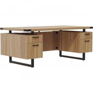 "Mayline 66""x36"" Mirella BF/BF Free Standing Desk MRDFF6636SDD MLNMRDFF6636SDD"