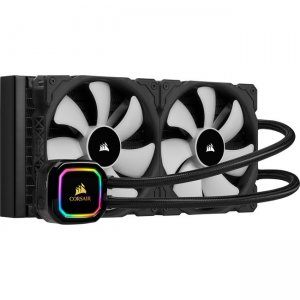 Corsair iCUE RGB PRO XT Liquid CPU Cooler CW-9060044-WW H115i