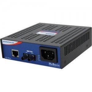 B+B SmartWorx 100Mbps and 10/100/1000Mbps Media Converter IMC-450-M8-US