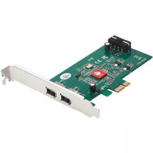 SIIG DP 2-Port FireWire PCIe NN-E20211-S1