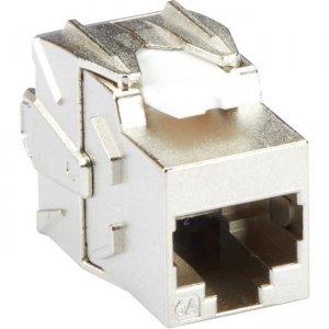 Black Box CAT6A Jack - Shielded, Silver FMT700-R2