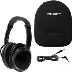 Hamilton Buhl Deluxe Active Noise-Cancelling Headphones with Case NC-HBC1 NCHBC1