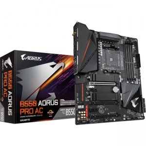 Aorus Ultra Durable (rev. 1.0) Desktop Motherboard B550 AORUS PRO AC