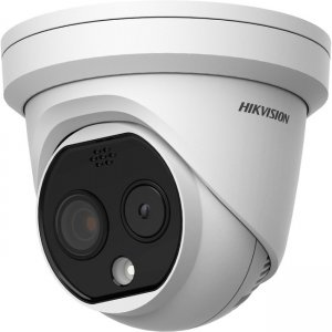 Hikvision Thermal and Optical Network Turret Camera DS2TD12172PA DS-2TD1217-2/PA
