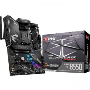 MSI Desktop Motherboard B550GEDGEWIFI MPG B550 GAMING EDGE WIFI