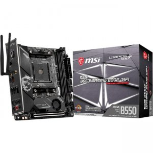 MSI MPG Desktop Motherboard B550IGEDGEWIFI B550I GAMING EDGE WIFI