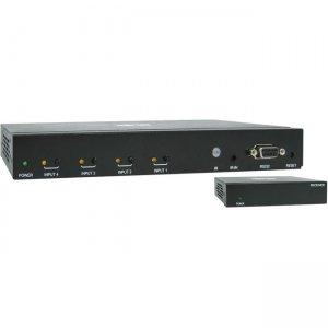 Tripp Lite 4-Port HDMI over Cat6 Presentation Switch/Extender B320-4X1-HH-K2