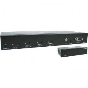 Tripp Lite 4-Port over Cat6 Presentation Switch/Extender Kit B320-4X1-MHE-K