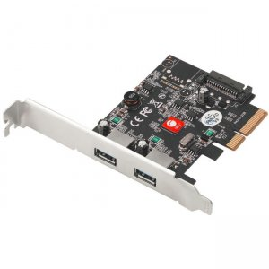 SIIG USB 3.1 2-Port PCIe Host Adapter - Type-A JU-P20912-S2