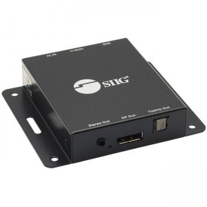 SIIG HDMI 2.0 to DisplayPort 1.2 Converter with Audio Extractor CE-H26A11-S1
