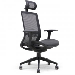 Lorell Mesh Task Chair With Headrest 03208 LLR03208