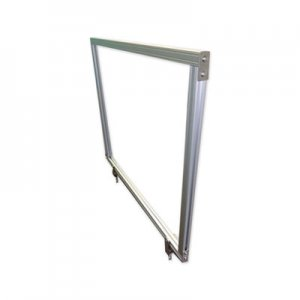 Ghent Desktop Acrylic Protection Screen, 59 x 1 x 24, Clear GHEDPSC2459A DPSC2459-A