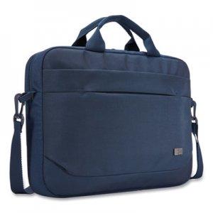 """Case Logic Advantage Laptop Attache, For 14"""" Laptops, 14.6 x 2.8 x 13, Dark Blue CLG3203987 3203987"""