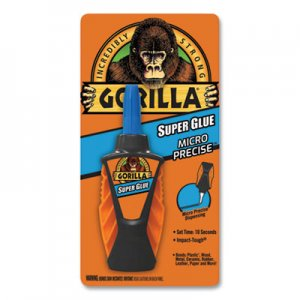 Gorilla Glue Super Glue Micro Precise, 0.19 oz, Dries Clear, 4/Carton GOR102862CT 102862CT