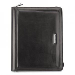 At-A-Glance Faux Black Leather Starter Set, 10.4 x 8.7, Black AAG1010299 1010299