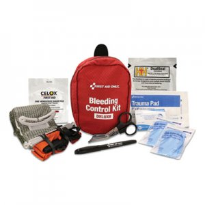 First Aid Only Deluxe Pro Bleeding Control Kit, 5 x 7 x 4 FAO91138 91138