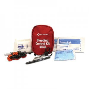 First Aid Only Basic Pro Bleeding Control Kit, 5 x 7 x 4 FAO91135 91135