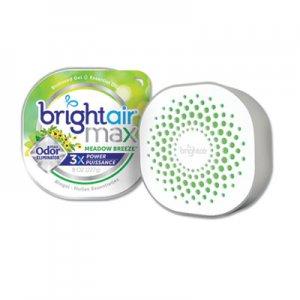 Bright Air Max Odor Eliminator Air Freshener, Meadow Breeze, 8 oz BRI900438EA 900438EA