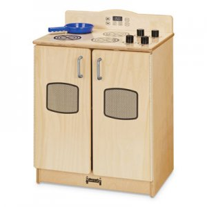Jonti-Craft Culinary Creations Birch Kitchen, Stove, 20w x 15d x 27h, Birch JNT2409JC 2409JC